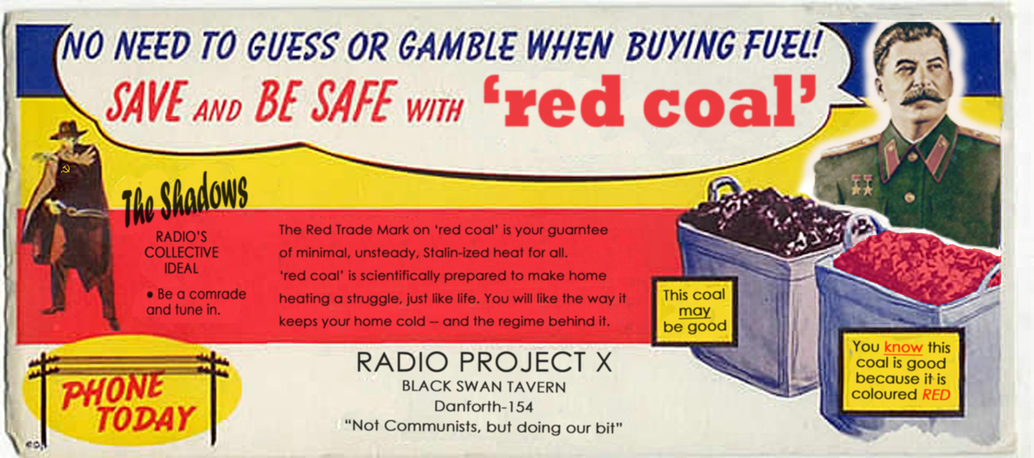 Radio Project X Promo Postcard image